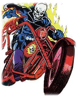 "Statue MOTARD FANTÔME ""J.Blaze / museum change-o-hand"" (Ghost Rider) - Page 2 01"